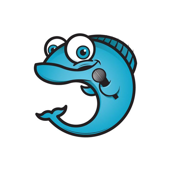 Singing Fish Mascot