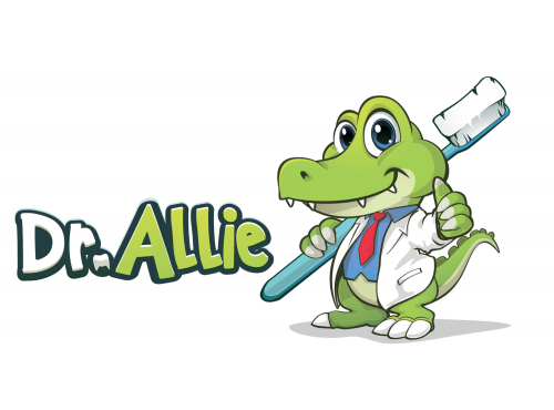 Dentist alligator Mascot