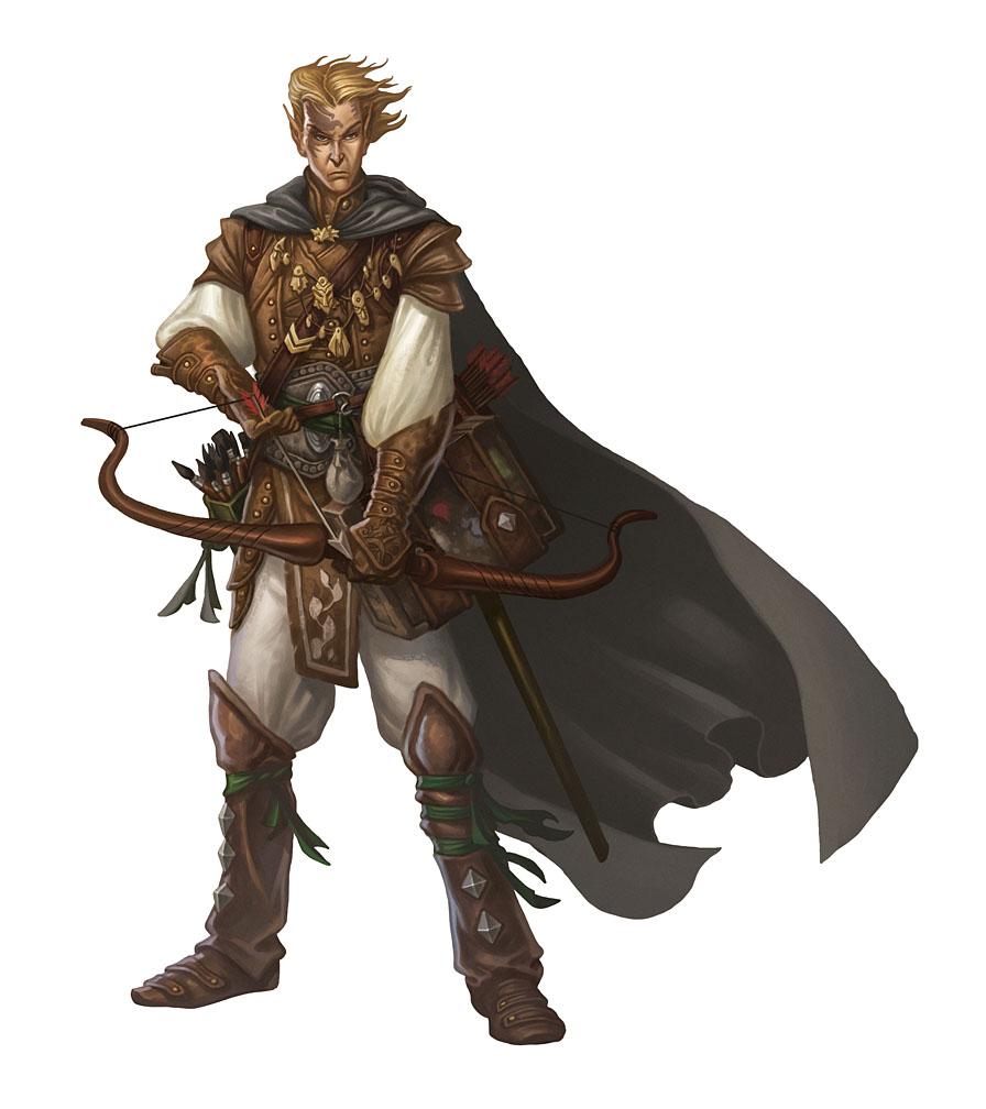 Elf Archer Mascot