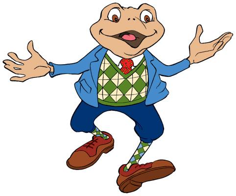 Mr. Frog Man Mascot