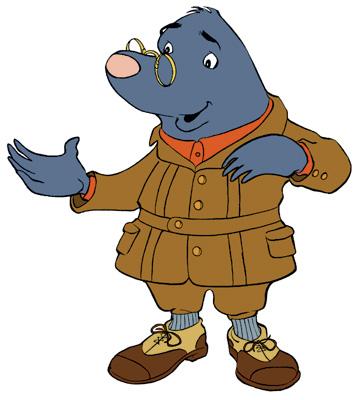 Mole Man Mascot