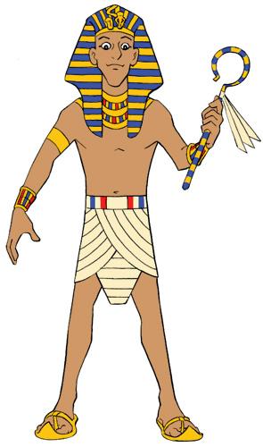 Pharaoh Mascot