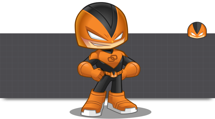 Armor Guy Mascot