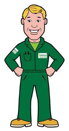 Laborer Worker Mascot