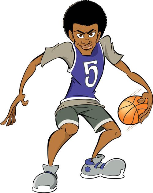 Street Baller Mascot