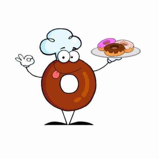 Delicious Doughnut Mascot