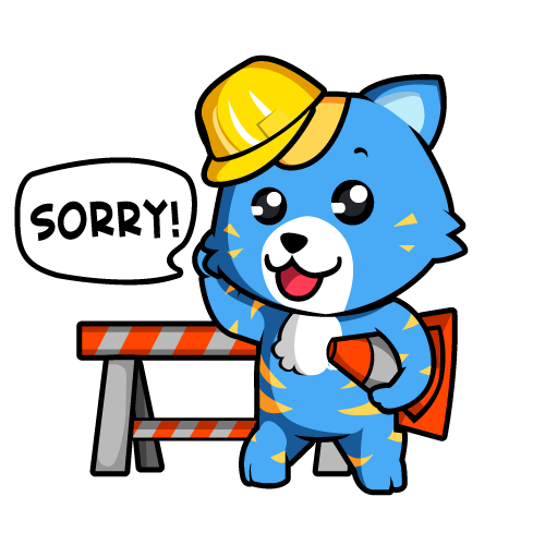 Construction Worker Bear Mascot