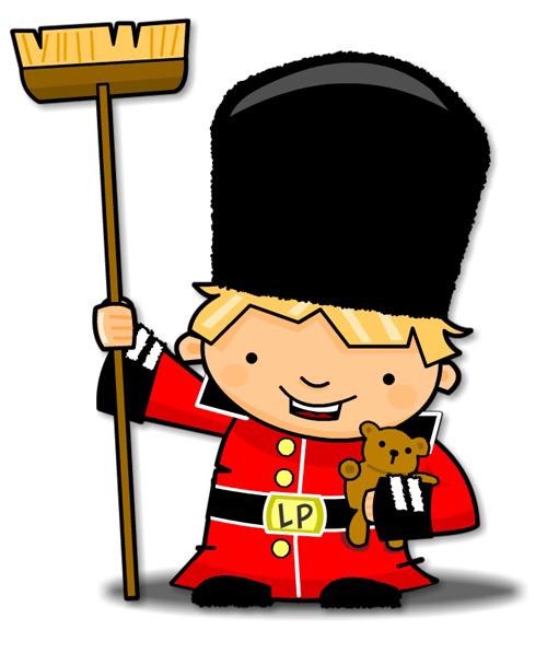 British Guard Mascot