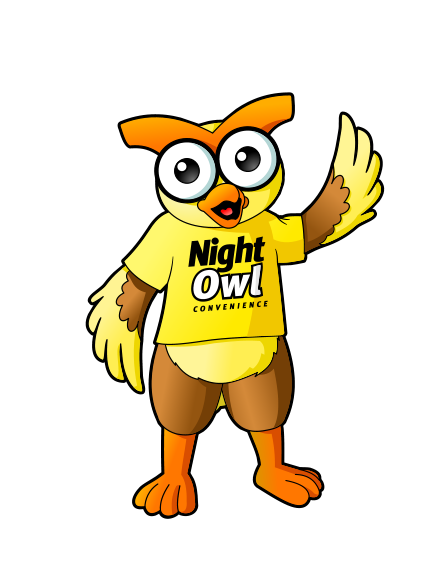 Friendly Owl Mascot