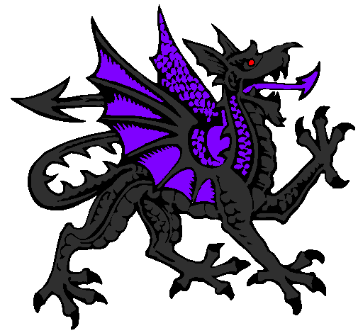Dark Dragon Mascot