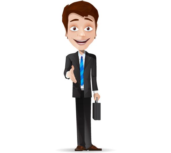 Business Agent Mascot