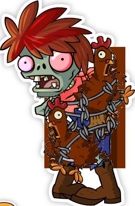 Chicken Wrangler Zombie