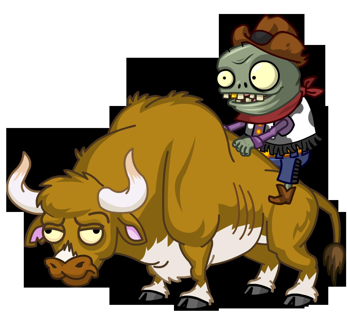 Zombie Bull Rider