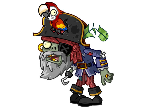 Pirate Captain Zombie