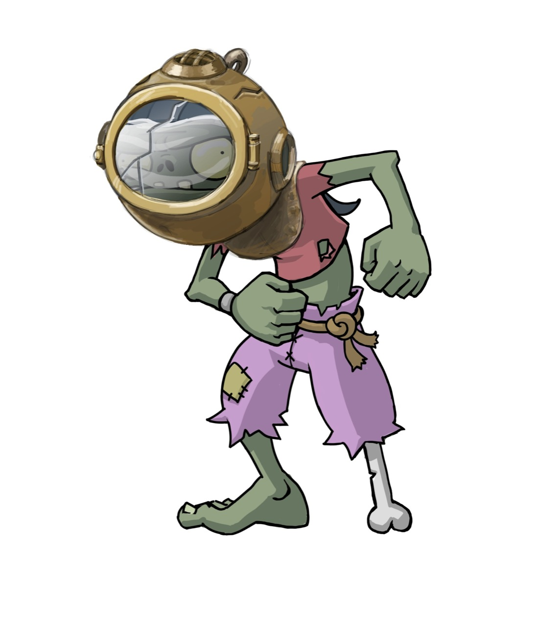 Diver Zombie