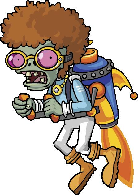 Disco Jetpack Zombie