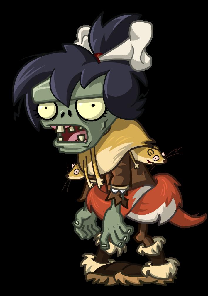 Weasel Hoarder Zombie
