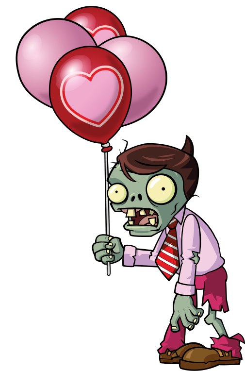 Pink Balloon Zombie