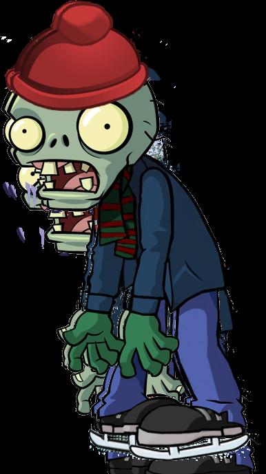 Ice Skater Zombie