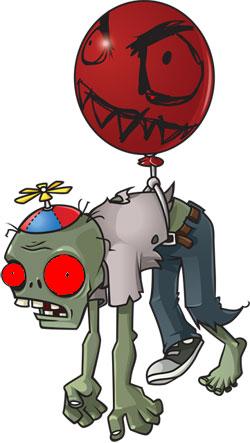 Giga Balloon Zombie