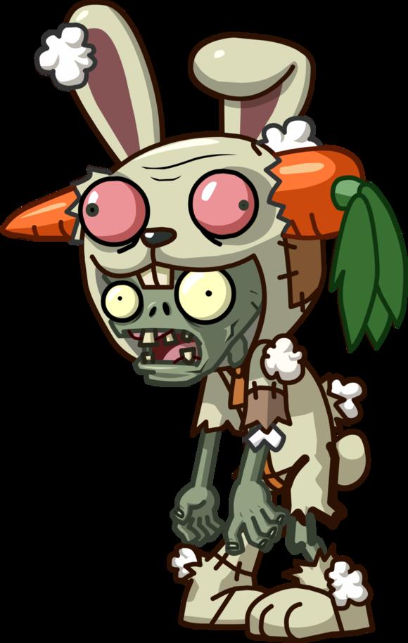 Rabbit Mascot Zombie