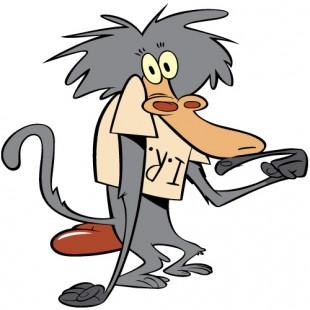 Baboon Mascot