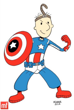 Super Hero Mascot