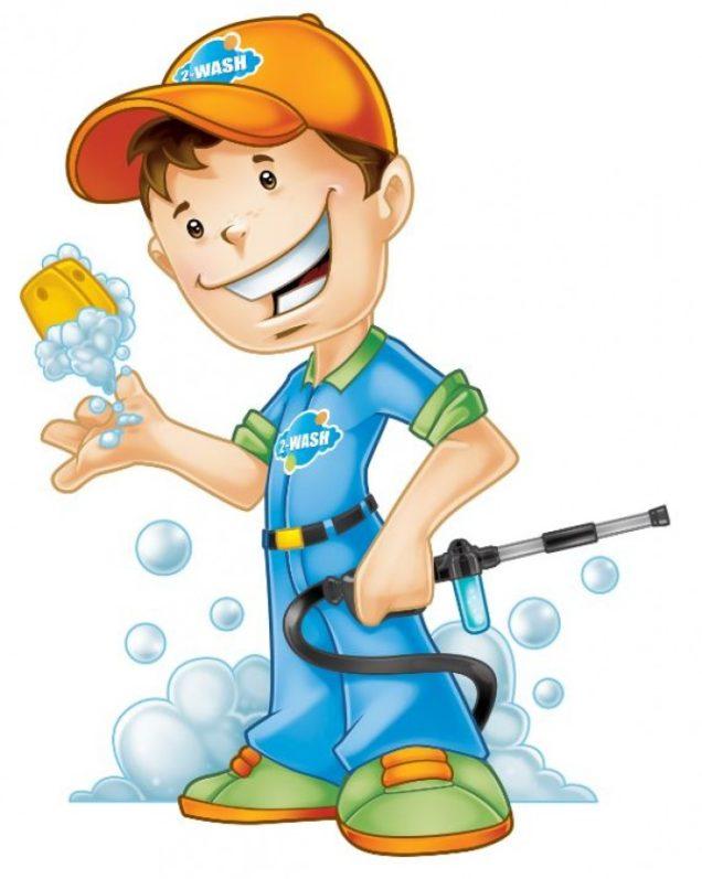 Washboy Mascot